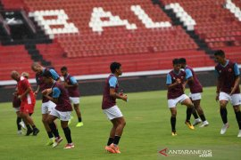 Latihan PSM Makassar jelang hadapi Lalenok Timor Leste