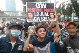 """Kemenkumham didemo terkait pernyataan Yasonna """"Tanjung Priok kawasan miskin, kumuh dan kriminal"""""""