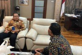 Bupati dan Wakil Ketua MPR bahas pembangunan perekonomian di Madina