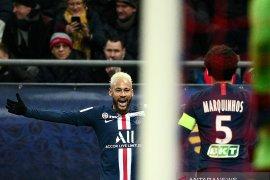 Neymar punya andil besar saat PSG bekuk Reims 3-0