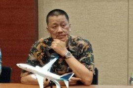 Garuda tunda sementara  penerbangan dari dan ke Tiongkok