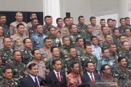 Jokowi yakin Prabowo mampu kelola anggaran Kemenhan