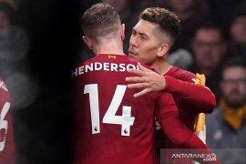 Liga Inggris - Liverpool redam Wolverhampton 2-1,  kembali cetak keunggulan 16 poin
