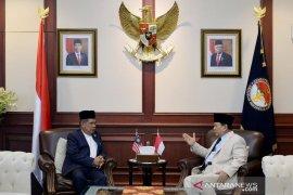 Prabowo terima kunjungan Menteri Pertahanan Malaysia