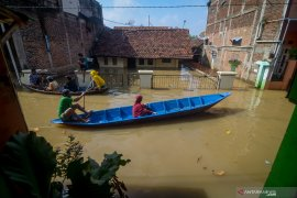 BPBD: 196 warga mengungsi akibat banjir di Kabupaten Bandung