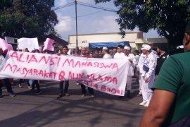 Ratusan warga Binjai minta Polisi berantas segala bentuk kemaksiatan