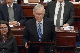 Berbeda dengan DPR AS, Senat AS bebaskan Trump dari pemakzulan