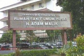 Satu PDP corona yang diisolasi di RSUP Adam Malik Medan meninggal dunia