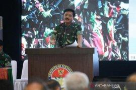 Panglima TNI mengingatkan kepada jajaran TNI untuk tidak berpolitik praktis