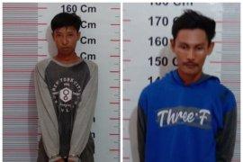 Dua warga Secanggang diringkus polisi Langkat karena miliki sabu-sabu