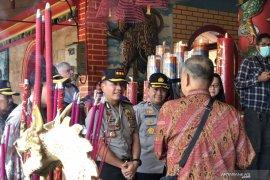Polisi terjunkan 100 personel amankan perayaan Imlek di  Kota Malang