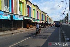 Pasar Pembangunan Kota Pangkalpinang sepi selama Imlek