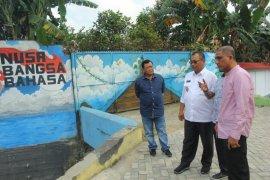Akhyar apresiasi seni mural percantik Kota  Medan