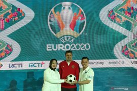 Pertandingan Piala Eropa 2020  ditayangkan di televisi Indonesia