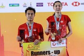Hafiz/Gloria kurang puas jadi juara dua Thailand Masters