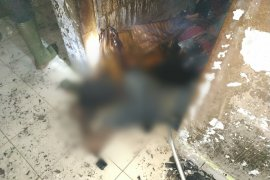 Pasutri di Lubuk Pakam tewas terbakar