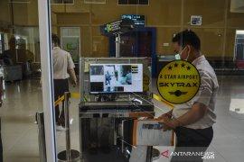 Akibat wabah corona, penumpang luar negeri ke Bandara Pekanbaru menurun