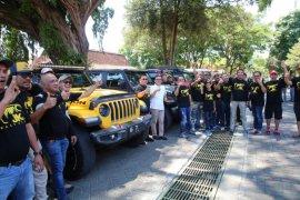Komunitas Jeep Rubicon jajaki destinasi wisata Banyuwangi