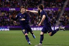 Nacho antarkan Real Madrid kokoh di puncak klasemen