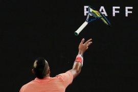 Mundur dari US Open,  Kyrgios imbau petenis untuk tidak egois