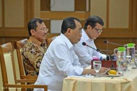 Menhub-Menkes-Menpar diskusikan pencegahan virus corona di Indonesia