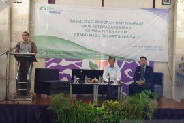 BP Jamsostek Denpasar gandeng hotel tegakkan kepatuhan jaminan sosial