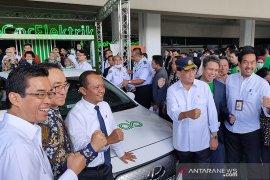 Grab Indonesia-Hyundai luncurkan layanan GrabCar Elektrik