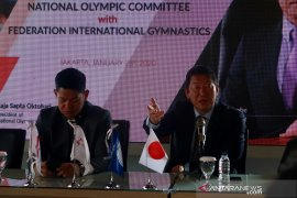 Presiden FIG dukung pengembangan senam Indonesia
