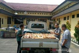 Polres Bangka Tengah amankan 1,2 ton BBM ilegal