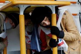 Warga asing di Tokyo belajar hadapi gempa bumi