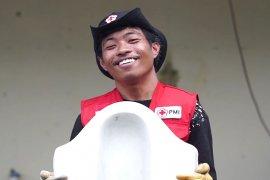 Moh Iron Relawan PMI Iron Man-nya Kota Palu
