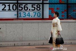 Saham Jepang ditutup merosot, investor hati-hati jelang pertemuan Fed