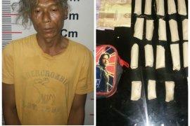 Pemilik 44 paket ganja di Pangkalan Susu Langkat diringkus Polisi