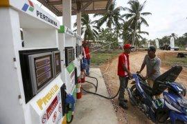 Hari ini peresmian SPBU 1 Harga di Pulau Maya