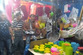 Legislatif dukung pasar murah di lapangan Kodim  0213/Nias
