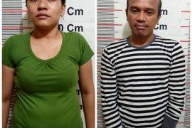 Polisi Gebang Langkat tangkap bukan pasangan suami istri bawa sabu-sabu