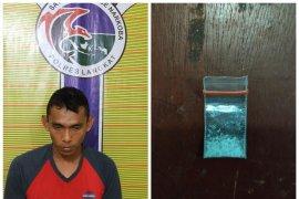 Satresnarkoba Langkat ringkus warga Sei Lepan miliki narkotika