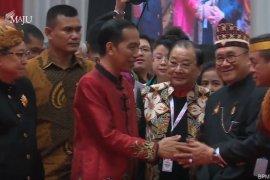 Jokowi kenakan Cheongsam saat hadir di perayaan Imlek nasional