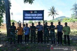 Danrem 133/Nani Wartabone pastikan Koramil Tolinggula segera dibangun