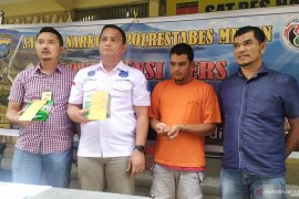 Polisi tangkap kurir sabu jaringan internasional di Medan