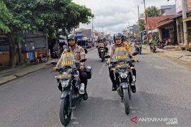 Kapolres Tanjab Barat patroli sepeda motor jaga stabilitas kamtibmas