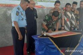 Forkopimda tanda tangani fakta zona integritas Polres Bangka