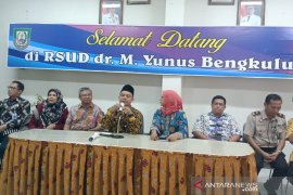 Pasien suspect virus corona di RSUD Bengkulu masih diisolasi