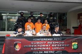 Polda Metro bekuk dua maling motor lintas daerah dari Sukabumi