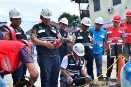 PLN UP3 Padangsidimpuan gelar apel bulan K3 Nasional 2020