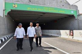 Presiden resmikan lintas bawah bandara internasional Yogyakarta