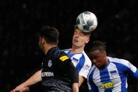 Hertha Berlin imbang tanpa gol saat jamu Schalke