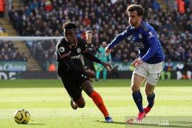 Chelsea vs Leicester berakhir imbang 2-2