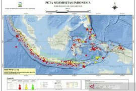 Pergeseran zona aktif wajar sebab Indonesia banyak sumber gempa