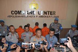 Kapolresta Ambon : Satu dari enam tersangka narkoba ibu rumah tangga